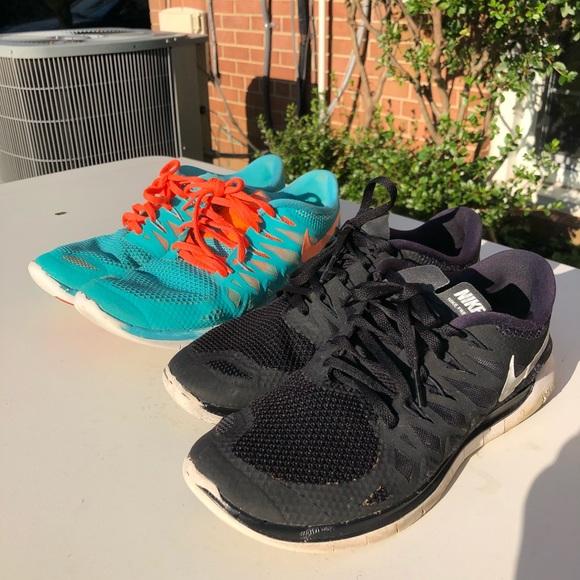 Newness Sadly come across  Nike Shoes | 2 Pairs Of Free Runs 50 | Poshmark